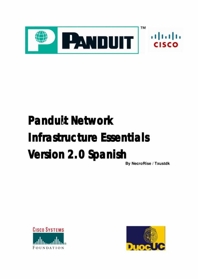 Panduit Network Infrastructure Essentials