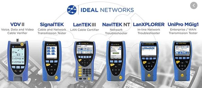 LAN TESTER IDEAL NETWORKS