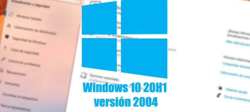 DESCARGAR WINDOWS 10 2004 20H1