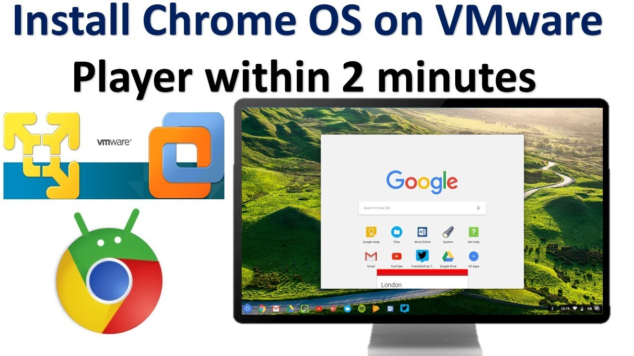 INSTALAR CHROME OS EN VIRTUAL